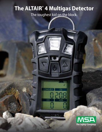 MSA Altair 4 Multigas Detector - 5 Alarm Fire and Safety Equipment