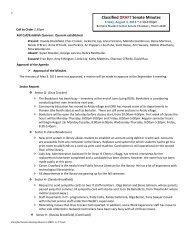 CSenate Minutes 130803 - Santa Rosa Junior College