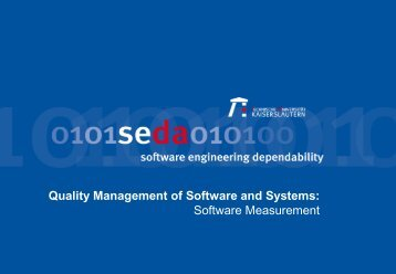 Software Measures - Software Engineering: Dependability