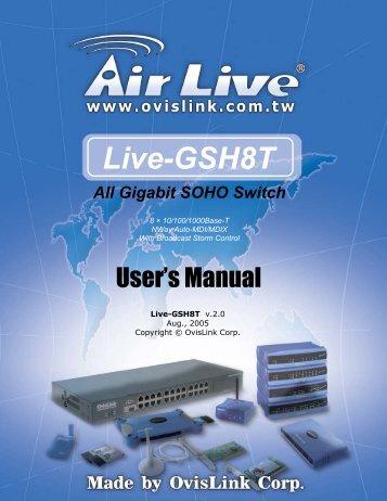 Live-GSH8T