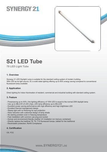 S21 LED Tube - Synergy21