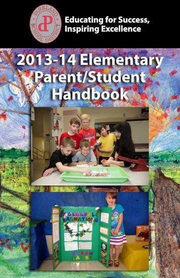 Elementary Handbook - Parkland School District