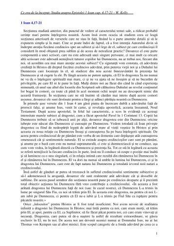 Ce era de la început: Studiu asupra Epistolei 1 ... - mesagerul crestin