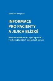 Informace pro pacienty a jejich blízké - Lundbeck