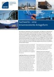 Sachwerte - Hansika Hanseatische Investitions