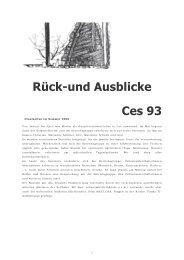 Rück-und Ausblicke Ces 93 - Fondazione CES