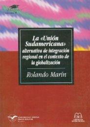 La «Unión Sudamericana - Repositorio UASB-Digital - Universidad ...