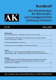 Rundbrief - Arbeitskreis für Wirtschafts- und Sozialgeschichte ...