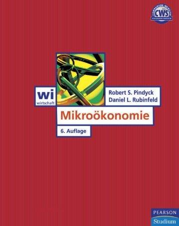 Mikroökonomie 6. Auflage  - ISBN ... - Pearson Studium