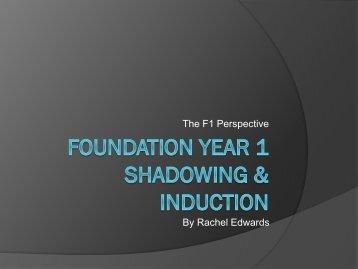 Shadowing Dr Rachel Edwards.pdf