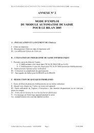 mode d'emploi du module automatise de saisie pour le ... - ADIPh
