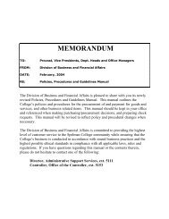Purchasing Guideline Manual (pdf) - Spelman College: Home