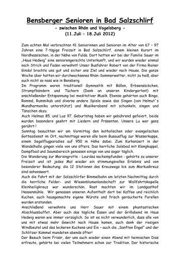 Lesen sie hier den Bericht weiter.. - Evangelische Kirchengemeinde ...