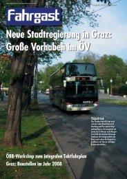 Neue Stadtregierung in Graz - FAHRGAST Steiermark
