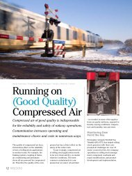Running on (Good Quality) Compressed Air - Vaisala