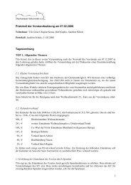 1 Protokoll der Vorstandssitzung am 07.02.2008 ... - Paulinenaue