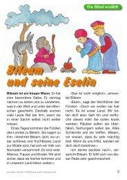 Bileam und seine Eselin