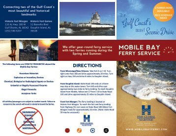 mobile bay ferry service
