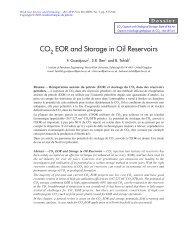 CO2 EOR AND STORAGE IN OIL RESERVOIRS - Oil & Gas Science ...