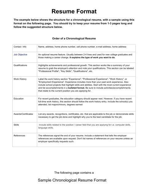 Sample Resume Format Navy Mwr