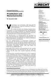 Presse Prostitution und Menschenrechte 2 - KoopKoMa