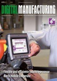 digital manufacturing 2013/06 - Digital Manufacturing Magazin