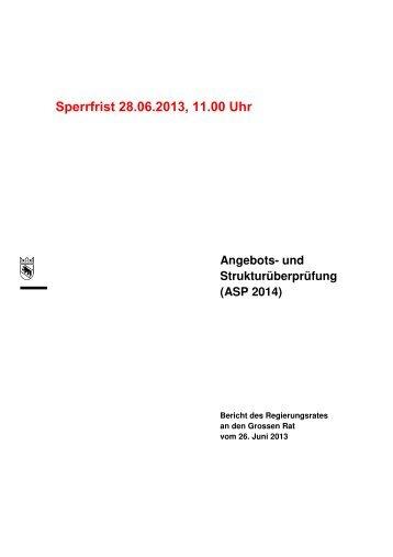 ASP 2014 - Berner Konferenz für Sozialhilfe und Vormundschaft