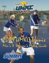Men's & Women's Media Guide - UMKC Athletics