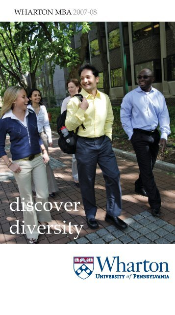 discover diversity - The Wharton School of the University of ...