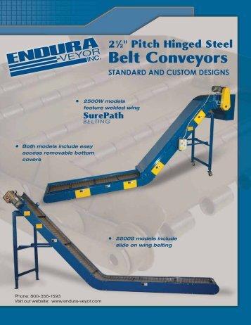 Belt Conveyors - Endura-Veyor Inc.