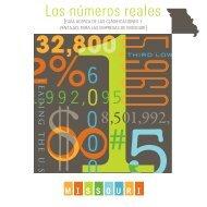 Los números reales - Missouri Partnership