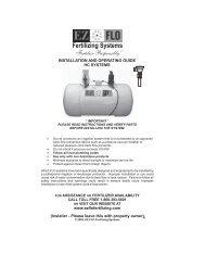 High Capacity Systems - EZ FLO