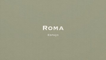 Roma: Espaço - Leonel Cunha