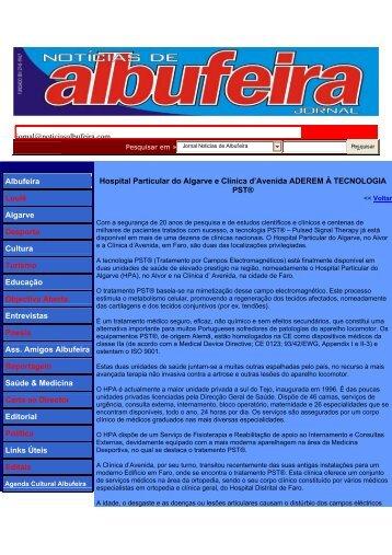 Jornal Noticias de Albufeira - PST Portugal