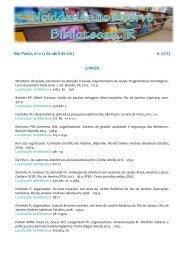n. 07/13 - Biblioteca/Centro de Informação e Referência em Saúde ...