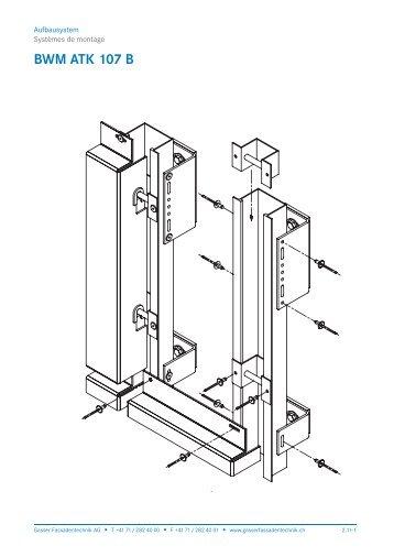 BWM ATK 107 B - Gasser Fassadentechnik