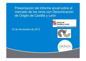 Mercado interior - Estudio Nielsen - ITACyL