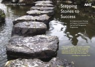 2. NHS Stepping Stones Document - Arthritis Care
