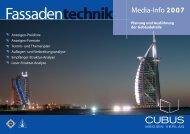 Fassadentechnik - Cubus Medien Verlag GmbH - Home