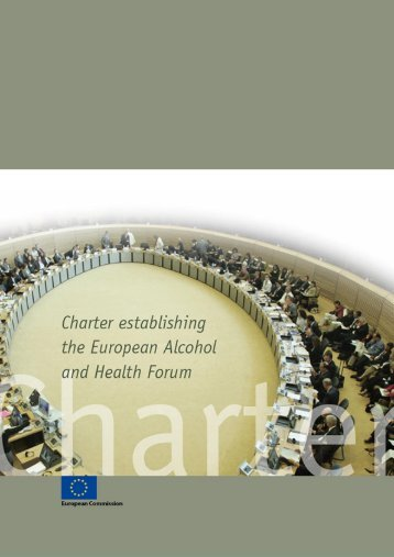 Charter establishing the European Alcohol and Health Forum - AIM