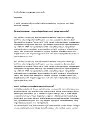 buku panduan anuiti persaraan - InsuranceInfo