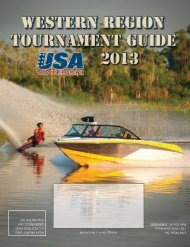 Western Region - USA Water Ski