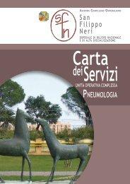 Servizi - Azienda Complesso Ospedaliero San Filippo Neri