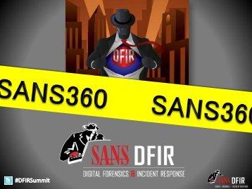 SANS360