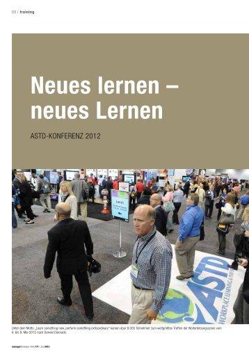 Neues lernen – neues Lernen - Hochschule Bremen