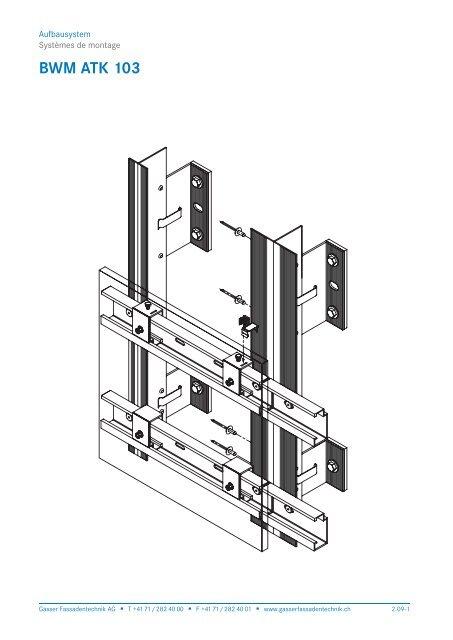 BWM ATK 103 - Gasser Fassadentechnik