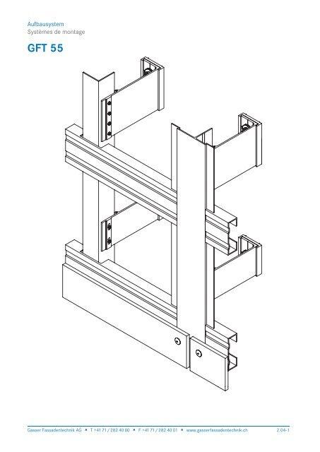 GFT 55 - Gasser Fassadentechnik