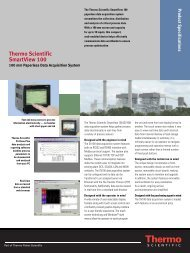 Thermo Scientific SmartView 100 - ETA Process Instrumentation