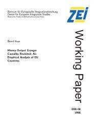 Money-Output Granger Causality Revisited - Zentrum für ...