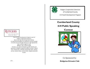 Public Speaking Booklet 12.pdf - cumberland county 4-h.